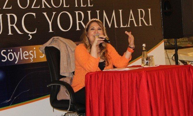 Astrolog Özkol, Malatya'da Burçları Anlattı