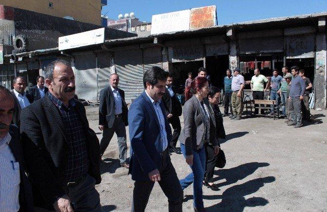 Van Büyükşehir Belediyesi Eş Başkanları Silopi'de