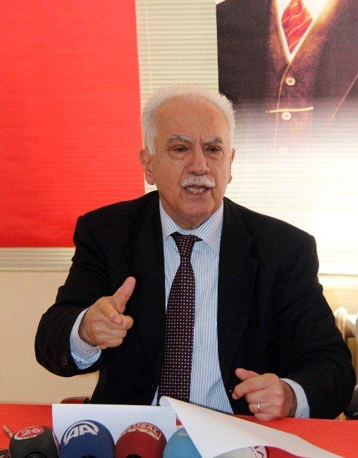 Vatan Partisi Genel Başkanı Doğu Perinçek: