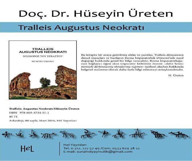ADÜ Öğretim Üyesi Üreten'in İki Kitabı Birden Yayımlandı