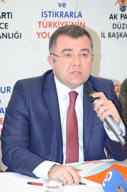 """AK Parti İl Başkanı Keskin """"Biz Şov Yapmıyoruz, İcraat Yapıyoruz"""""""