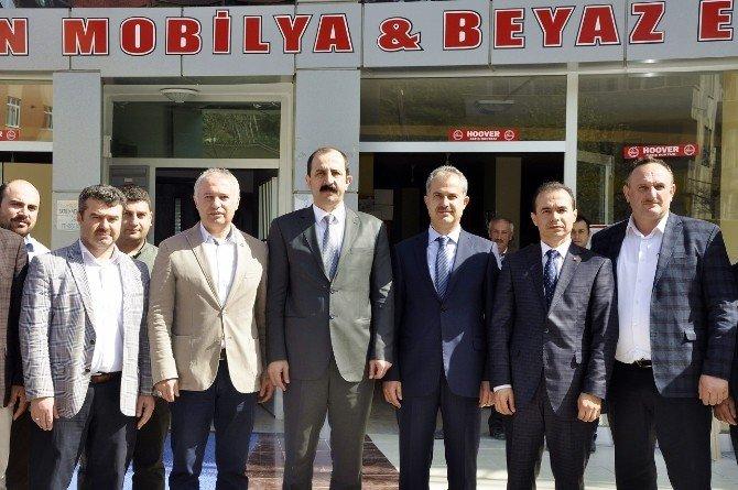 Göksel Ve Erdoğan'dan Ayvacık'a Ziyaret