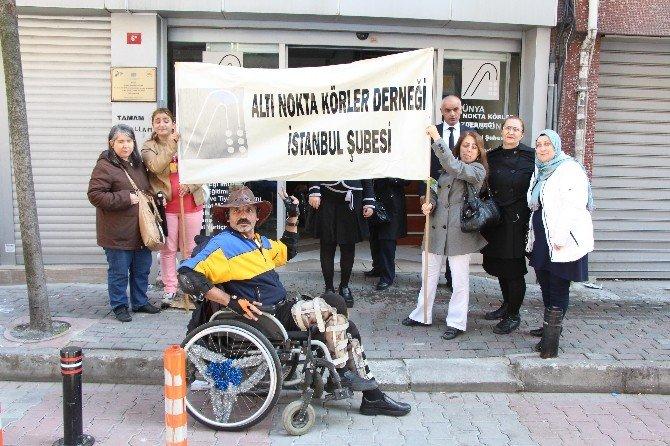 """Görme Engelli Kadınlardan """"8 Mart"""" Mesajı"""