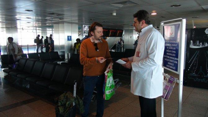 Atatürk Havalimanı'nda 'zika' uyarısı