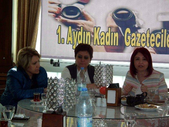 Aydın'da Kadın Gazeteciler İlk Kez Biraraya Geldi