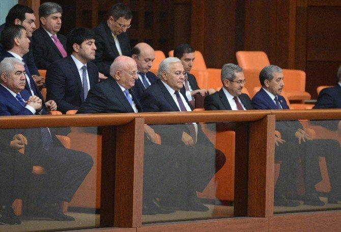 Azerbaycan Milli Meclis Başkanı TBMM Genel Kurulu'nda