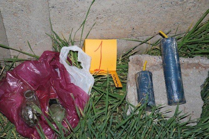 Batman'da Mezarlıkta 2 Adet El Bombası Ve Patlayıcı Bulundu