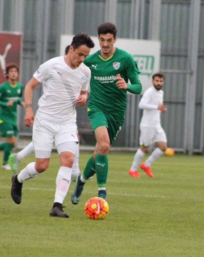 Bursaspor'dan, Antalyaspor karşılaşması öncesi hazırlık maçı