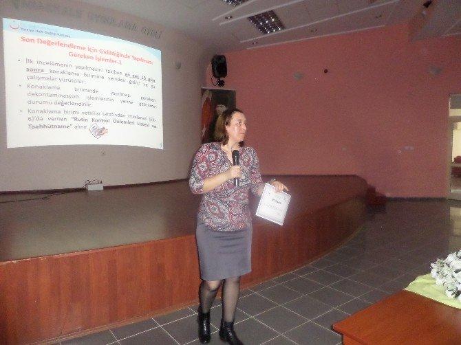 Otellere Lejyoner Hastalığı Eğitimi
