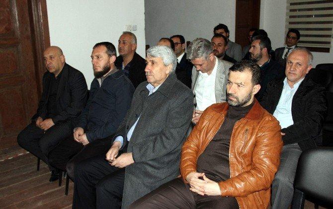 Başkan Ali Çetinbaş Birlik Vakfı'nın Yönetim Kurulu Toplantısı'na Katıldı