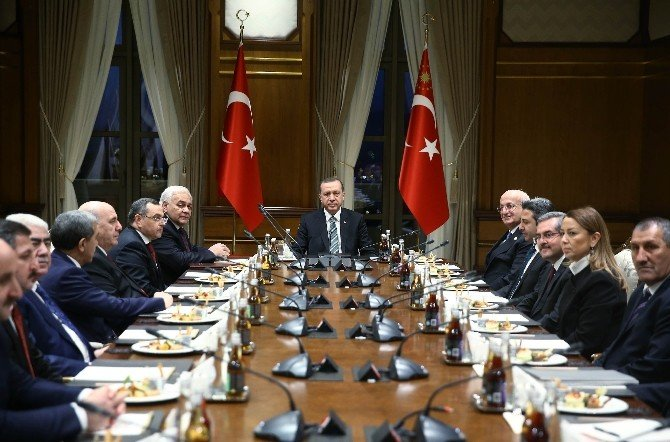 Azerbaycan Milli Meclis Başkanı Asadov, Cumhurbaşkanlığı Külliyesi'nde