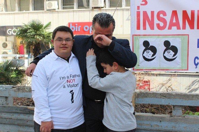 """Çocuklarını Haczeden Babalardan """"Mağduriyet Birliği"""""""
