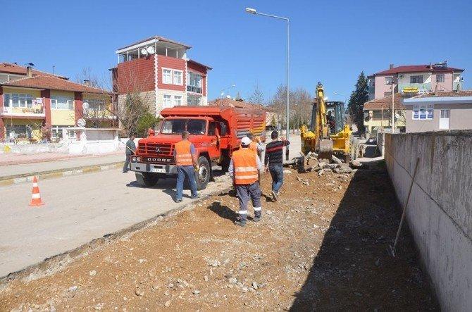Suluova'da Sokaklar Yenileniyor