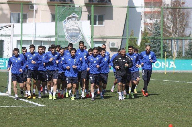 Kayseri Erciyesspor Göztepe Maçının Hazırlıklarını Sürdürdü