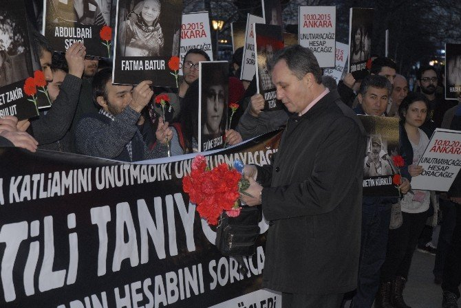 Eskişehir'de '10 Ekim' Anması