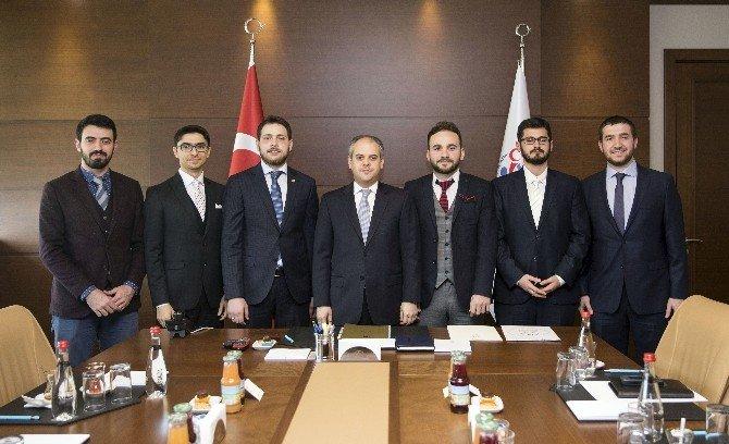 Bakan Çağatay Kılıç, Genç İslam Dünyası STK'lar Birliği Yönetimini Kabul Etti