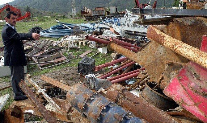 Durağan Belediyesi Zararı Kara Çevirdi