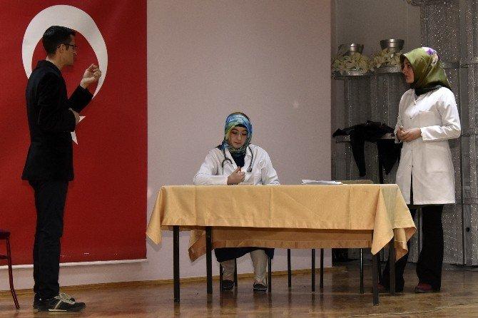 Gümüşhane'de İşaret Dili Kursu Sertifika Töreni Yapıldı