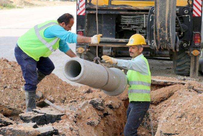 Saraykent Mahallesi'ne kanalizasyon hattı döşendi