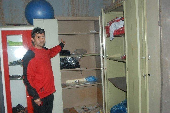 Aydın'da Hırsızlar Bu Sefer Amatör Kulüplere Dadandı