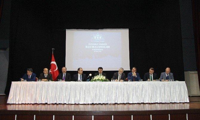 İstanbul Valisi Vasip Şahin Kağıthane'nin Sorunlarını Dinledi