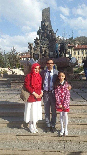 İstiklal Marşı Okuma Yarışmasında Pınarbaşı'na İki Birincilik