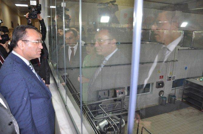 Adalet Bakanı Bozdağ Cezaevi İş Yurtlarını Gezdi