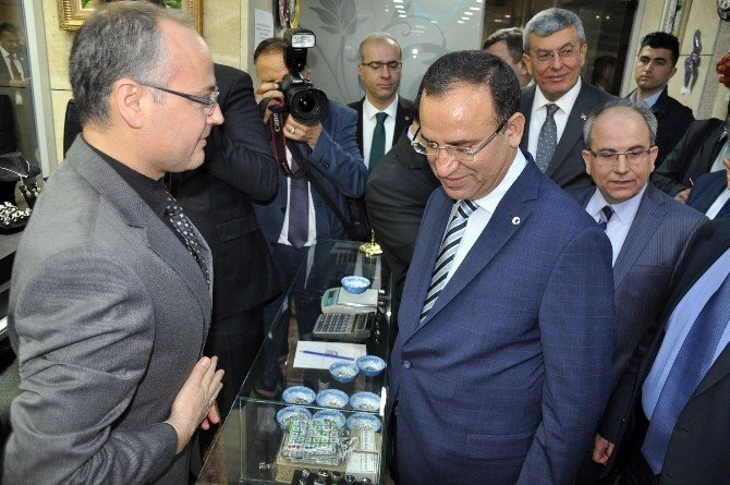Adalet Bakanı Bozdağ İzmir Adliyesini Gezdi