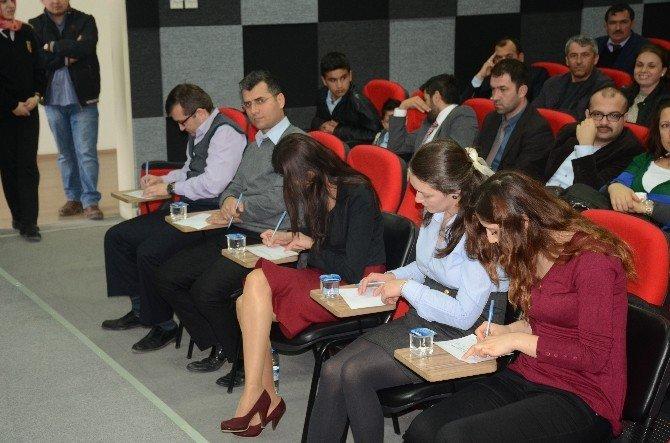 Bilecik'te İstiklal Marşı Okuma Yarışması Yapıldı