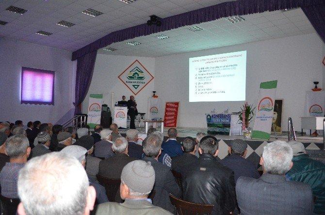 Kargı'da Çeltik Konferansı