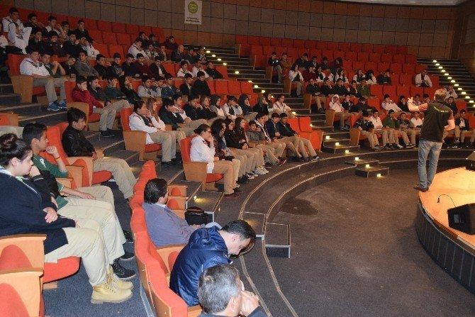 Aliağa'da Öğrencilere TEM Ekibinden Eğitim