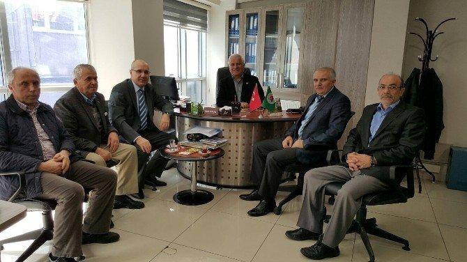 SGK, Ziraat Odası Yöneticilerine Tarım Sigortasını Anlattı
