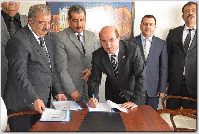 Kilis'te 'Kardeş Kurum-kardeş Okul' Protokolü İmzalandı