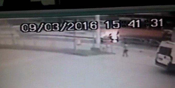Korkunç Kazanın Güvenlik Kamera Görüntüleri Ortaya Çıktı