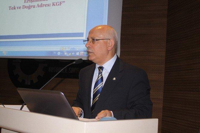 'Kredi Garanti Fonu Konulu Bilgilendirme Toplantısı' Düzenlendi