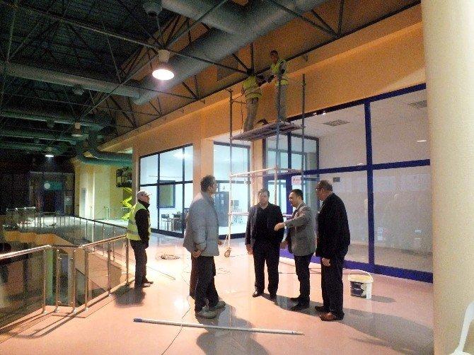 Kumluca Terminali Yenileniyor
