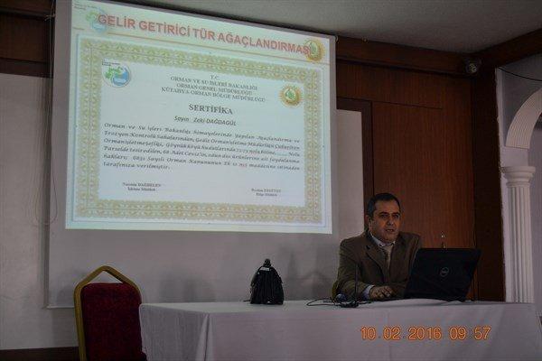 Gediz'de Köy Muhtarları Toplantısı