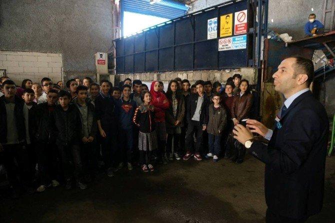 İldem İMKB İlk Ve Ortaokulu Öğrencileri Geri Dönüşüm Tesislerini Gezdi