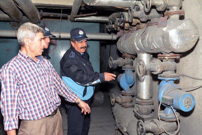 Menteşe'de hava kirliliği denetimi yapıldı