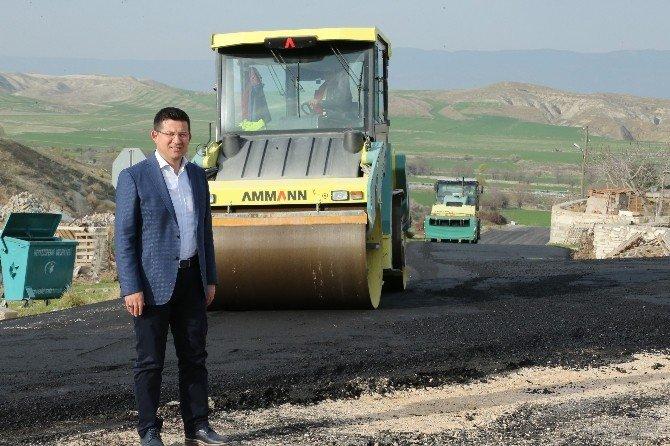 Başkan Subaşıoğlu Asfalt Çalışmalarını İnceledi
