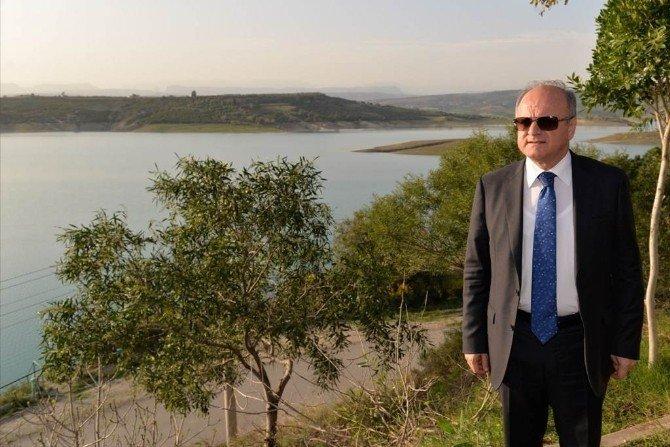 Vali Çakacak, Berdan Barajı'nda İncelemelerde Bulundu