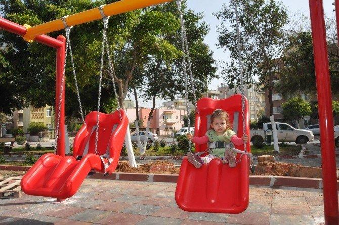 Tarsus'ta Parklar Engellilere Göre Düzenleniyor