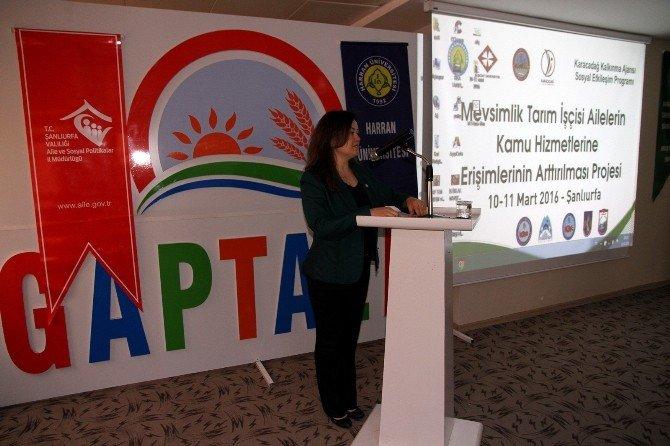 Şanlıurfa'da Tarım İşçilerinin Kamu Hizmeti Alma Sorunu Tartışıldı