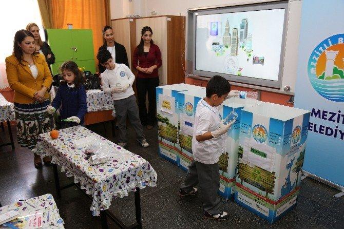 Mezitli Belediyesi'nden İlkokullarda Çevre Eğitimi