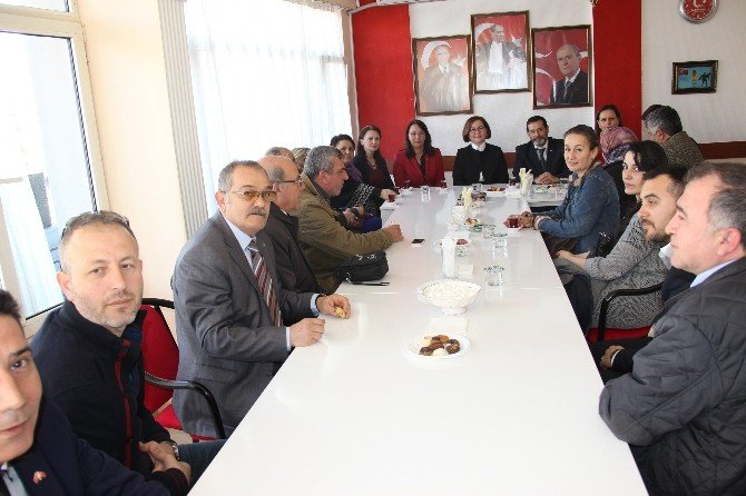 MHP Genel Başkan Yardımcısı Dr. Ruhsar Demirel Çanakkale'de