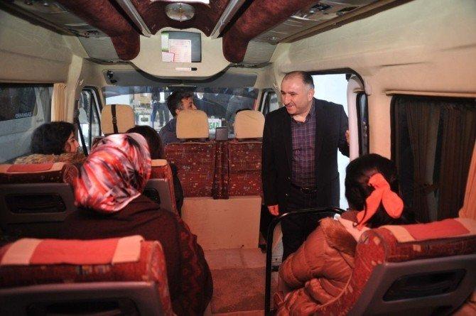 Orhangazi Belediyesi'nden YGS'ye Girecek Öğrencilere Servis Hizmeti