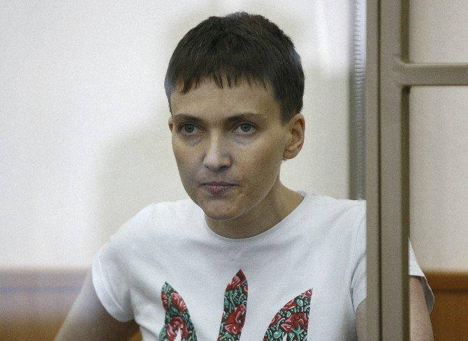 Rusya'nın Tutukladığı Ukraynalı Kadın Pilot Açlık Grevinde