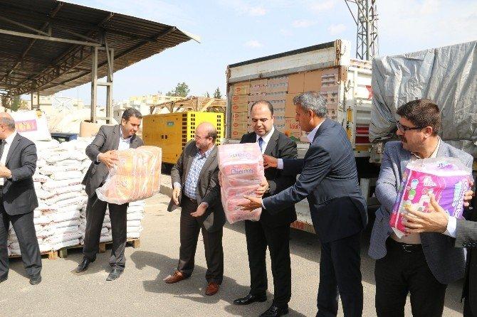 Şanlıurfa'dan Sınır Ötesine Ve Terör Mağdurlarına Yardım