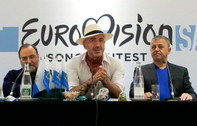 Serhat Hacıpaşalıoğlu, Eurovision şarkısını tanıttı