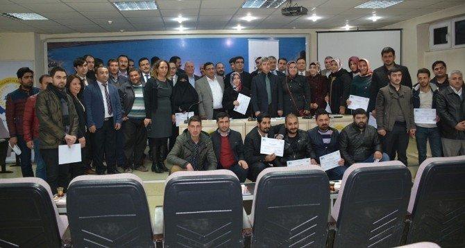 Tatvan'da 60 Girişimci Kursiyer Sertifikasını Aldı